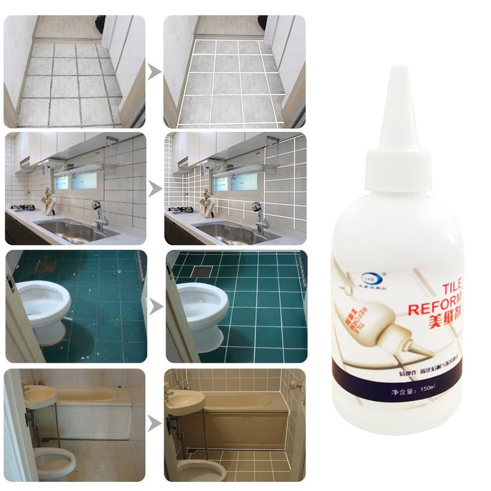 2019 Tile Gap Refill Agent Tile Reform Coating Mold Cleaner Tiles Sealer Repair Glue for bathtub tiles bathroom toilet tile