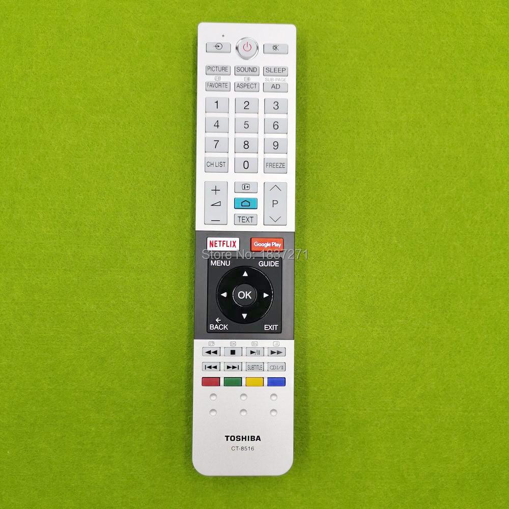 Nuevo control remoto original ct-8516 para Toshiba 43U7750 49U7750 55U7750 65U7750 tv lcd