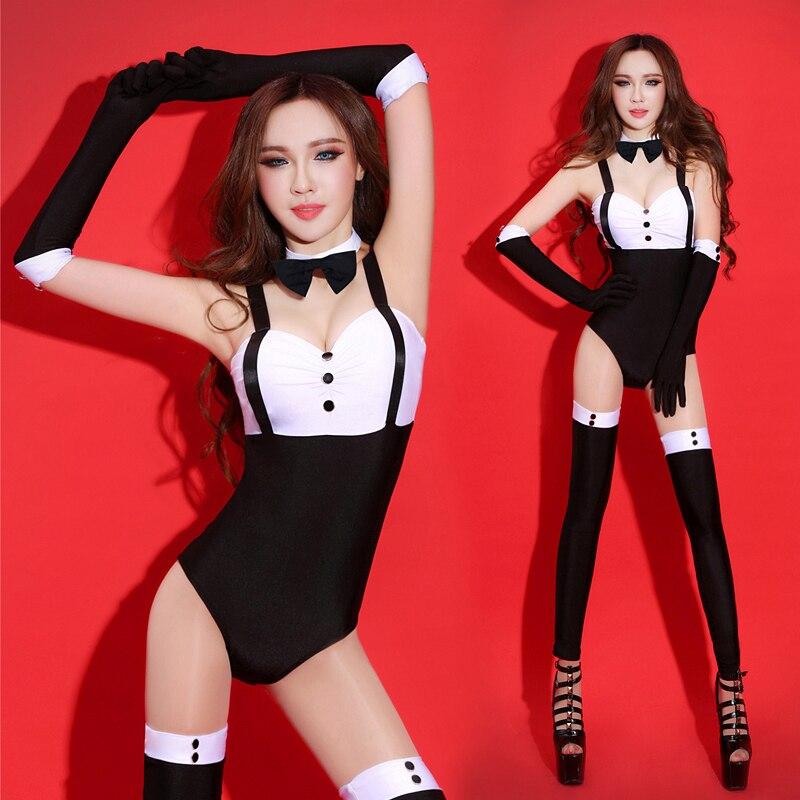 Body para Jazz Sexy Dj traje de LED Rave ropa femenina cantante Bar Ds trajes Mono para discoteca ropa de Pole Dance DN1688