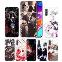 Anime Case for Samsung Galaxy A50 A70s A70 A20e A40 A30 A20 A10 A71 A9 A7 2018 Hard Clear Capa Phone Coque Cover Tokyo Ghouls