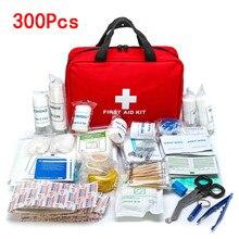 16-300 Pcs portatile Di Sopravvivenza Di Emergenza Kit di Pronto Soccorso Set per i Farmaci Escursione di Campeggio Esterno Borsa Medica Di Emergenza Borsa