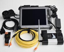 BMW Wifi Icom Next avec logiciel SSD   Outil de diagnostic pour BMW voiture/camion/moteur, ordinateur portable IX104 i7 et tablette 8g, prêt à utiliser