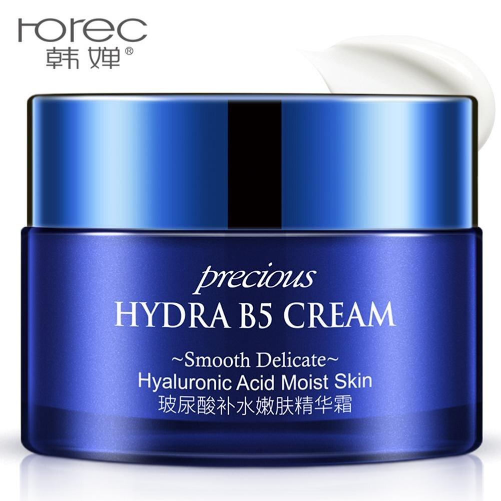 Crema Facial de ácido hialurónico, crema hidratante para blanquear la cara, reafirmante y reparador de la piel, crema Facial antiarrugas, antiedad