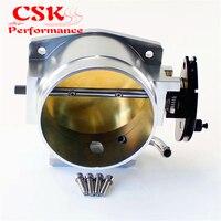 New Aluminum For GEN III LS1 LS2 LS3 LS6 LS7 LSX 102mm 4 throttle body kits