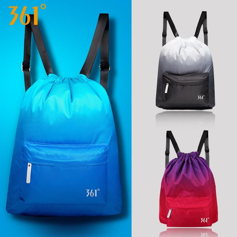 361 Sports Gym Bag Swimming Backpack Waterproof Drawstring Dry Wet Bag Pool Beach Fitness Bag for Men Women Children Back pack
