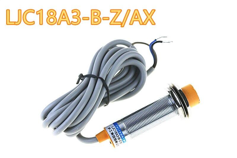 1-10mm capacitancia interruptor detector con sensor de proximidad PNP NC DC 6-36V 300mA 3-Alambre de LJC18A3-B-Z/AY