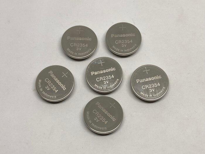 15 unids/lote nueva batería Original para Panasonic CR2354 coche llave remota 3V botón batería instrumento y medidor baterías CR 2354