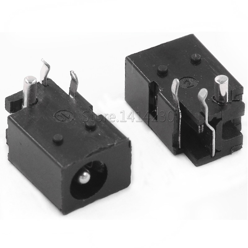 Conector Jack CC negro de 10 Uds., DC-023, 4,0mm x 1,7mm, conector hembra CC DC023 4,0x1,7mm x 4,0 1,7mm, conector hembra de aguja DC 10 Uds.