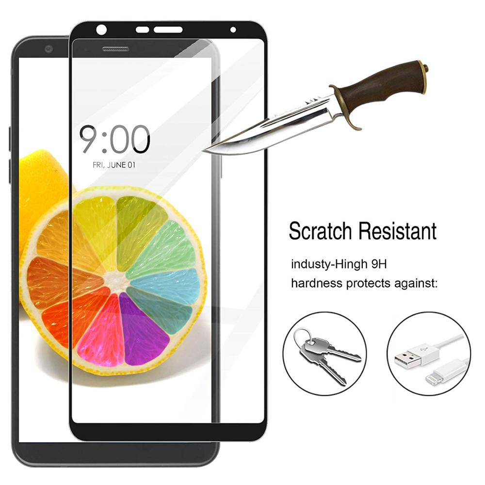 3D Full Glue Cover Screen Protector for LG Stylo 4 Tempered Glass for LG Q Stylo4 LG Q Stylus LM-Q71