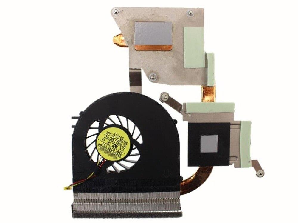 Nuevo para DELL VOSTRO V3550 3550 DP/N 0GXVT8 GXVT8 DFS501105FQ0T FA80 60.41G65. 001 23.10557.001 ventilador disipador térmico CPU