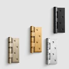 Charnière de porte plate en acier inoxydable   Une paire/4 pouces/en acier inoxydable de haute qualité avec roulement silencieux