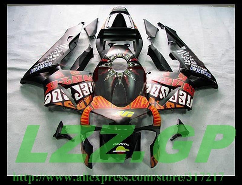 Injection verkleidung kits für Gemalt CBR600RR 03 04 F5 CBR 600RR 03-04 CBR600 RR 2003 2004 verkleidung teile # S56GG7 LZZ. GP