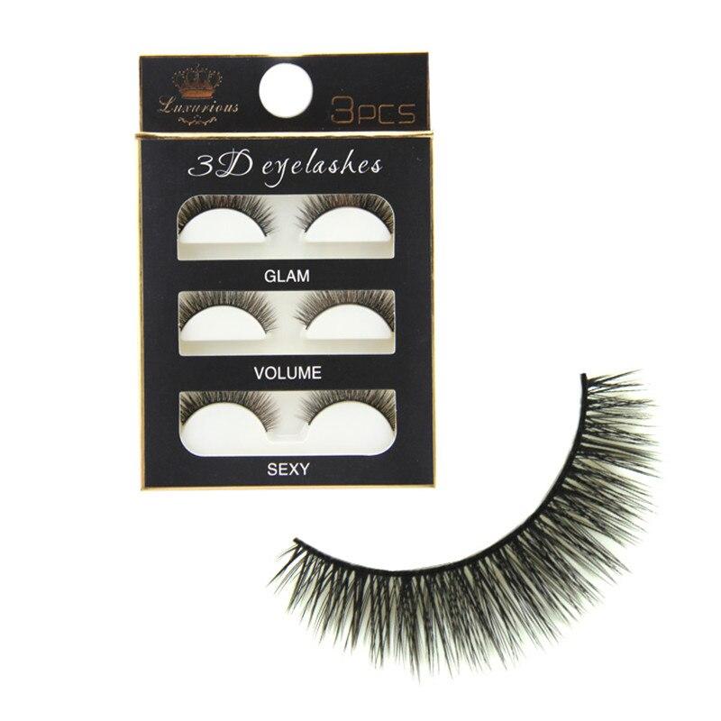 Мягкие хлопковые 3D накладные ресницы с крылышками, вышивка крестиком, натуральные длинные ресницы, модный макияж, накладные ресницы