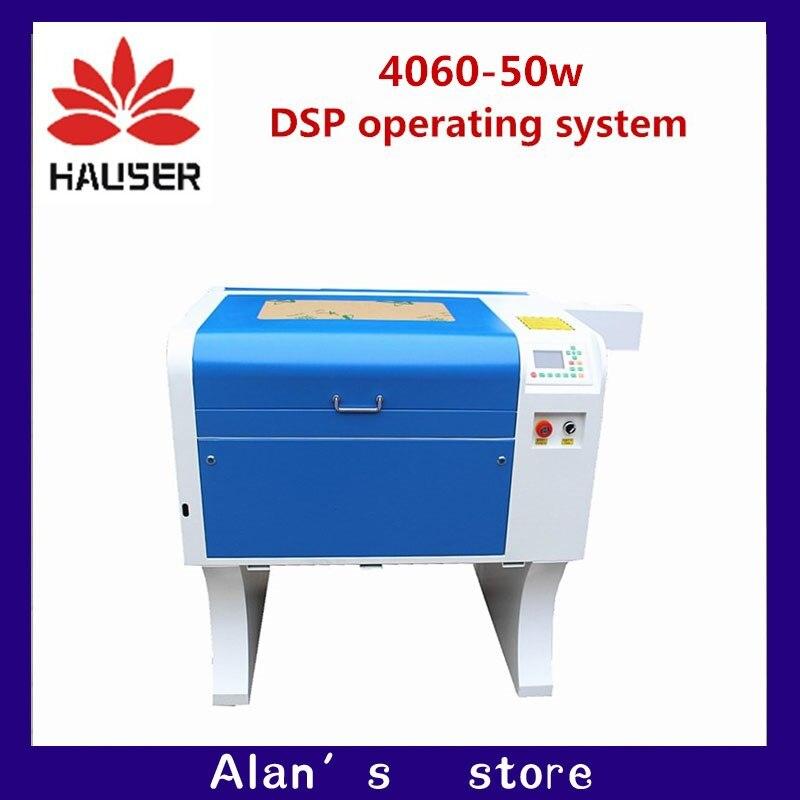 Co2 láser 50W 4060 láser cortador de Grabado de la máquina de marcado mini máquina de corte por láser cnc router cabeza láser diy