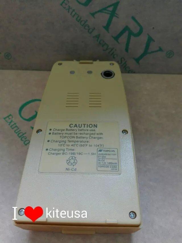 Zupełnie nowy nowy Topcon BT-32Q ni-cd bateria 7.2V 1400mah dla TOPCON Total stacje darmowa wysyłka