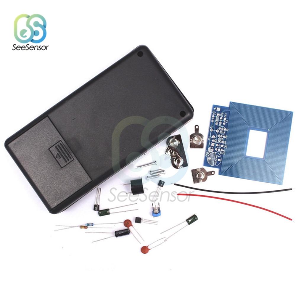 Metall Detektor DIY Kit Elektronische Kit DC 3 V-5 V Nicht-kontaktieren Sensor Board Modul DIY Elektronische teil mit Fall Shell