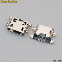 ChengHaoRan 1PCS Micro mini USB Jack Charging port Socket repair parts FOR Huawei/Lenovo/OPPO/ZTE/..