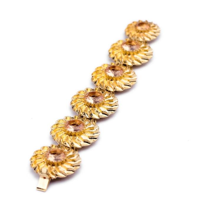 Gran oferta, venta al por mayor, precio de fábrica, joyería egipcia de China, aleación de Metal Color dorado, pulseras y brazaletes de moda