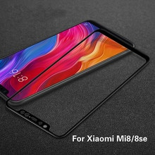 Tempered Glass For Xiaomi 8 Screen Protector For Xiaomi Mi 8 se 3D Curved Protective Glass On For Xi