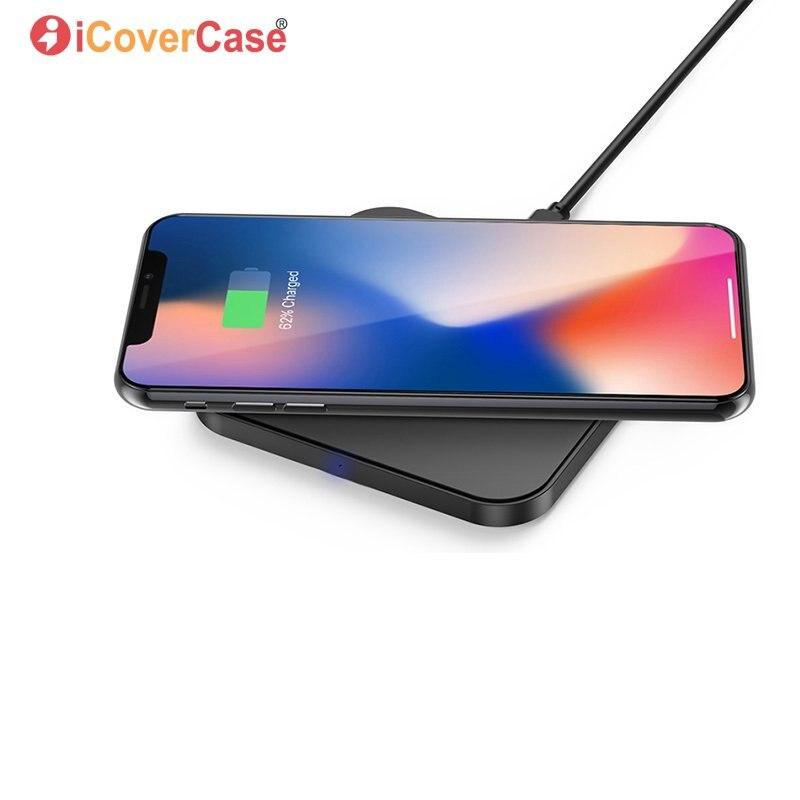 Cargador Qi inalámbrico para Huawei P8 P8 Lite P9 Lite P9lite 2017 P10 Plus adaptador de carga inalámbrico Pad receptor carcasa de carga de energía