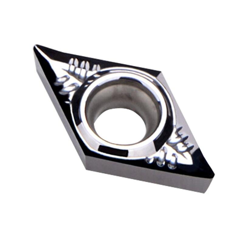 DCGT11T302 H01 DCGT11T304 H01 DCGT11T308 H01 cortador de herramienta de torneado interno CNC insertar herramienta de corte para aluminio