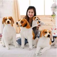 fancytrader 35inches 90cm lovely large animal plush dog stuffed emulational dog simulator toy kids gift