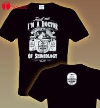 T-Shirt à manches Double face T-Shirt amusant Trust Me je suis docteur de la shineologie spiritueux Guru S To 3Xl T-Shirt à capuche
