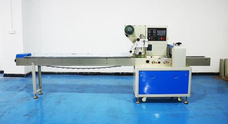 Máquina de envasado al vacío, de KN-350, automática, horizontal, rígida