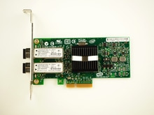 Double Port multi-mode PCIe x4 Gigabit serveur adaptateur carte NIC Fiber LC EXPI9402PF