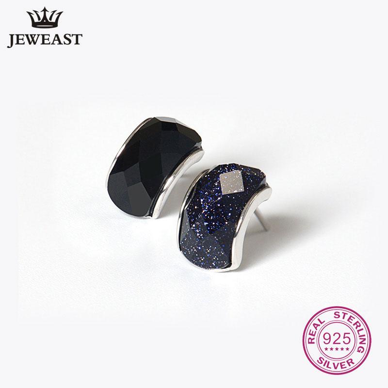 Стерлинговое-Серебро-925-пробы-камень-агат-серьги-для-женщин-ювелирные-изделия-круглой-формы-и-в-виде-сердца-ретро-унисекс-аксессуары-для