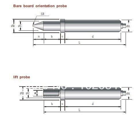 شحن مجاني 100 قطعة/الوحدة GP1T 29.5 مللي متر العارية مجلس موقف التحقيق