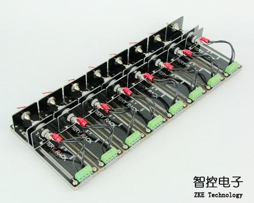 Soporte de prueba de batería de cuatro cables