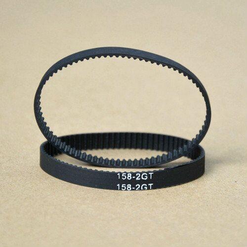 10 pçs/lote, MXL Correia Dentada, Closed-loop, B158MXL, 6 3mm mm de largura