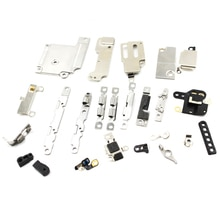 24Pcs/ Set for iPhone 6 4.7 Accessories Inside Small Metal Parts Holder Bracket Shield Plate Set Kit