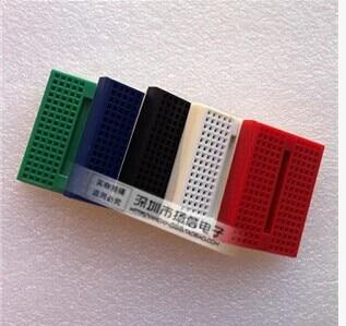 1 pçs/lote SYB-170 mini solderless protótipo experimento teste tábua de pão 170 tie-points 35*47*8.5mm