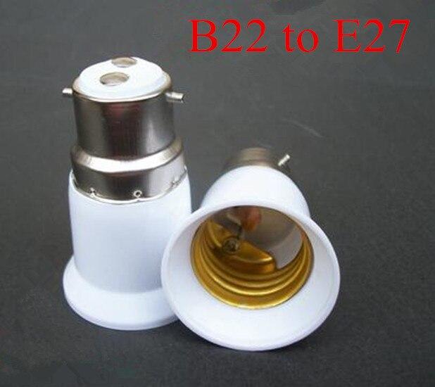 B 22 A E 27 Base de enchufe de extensión LED adaptador para bombilla convertidor lámpara soporte Base práctico y cómodo accesorios de iluminación