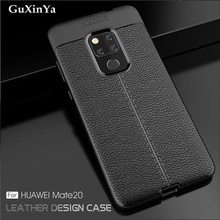 For Huawei Mate 20 Cases Mate 20 Phone Cover Luxury Leather ShockProof TPU Protective Case For Huawe