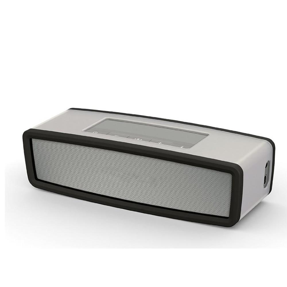 Funda de transporte de silicona para caja de viaje al aire libre Universal funda protectora para BOSE SoundLink Mini Altavoz Bluetooth