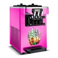 7.2L*2 Cylinder Tank Soft Ice Cream Maker Making Machine Stainless Steel Ice Cream Vending Machine