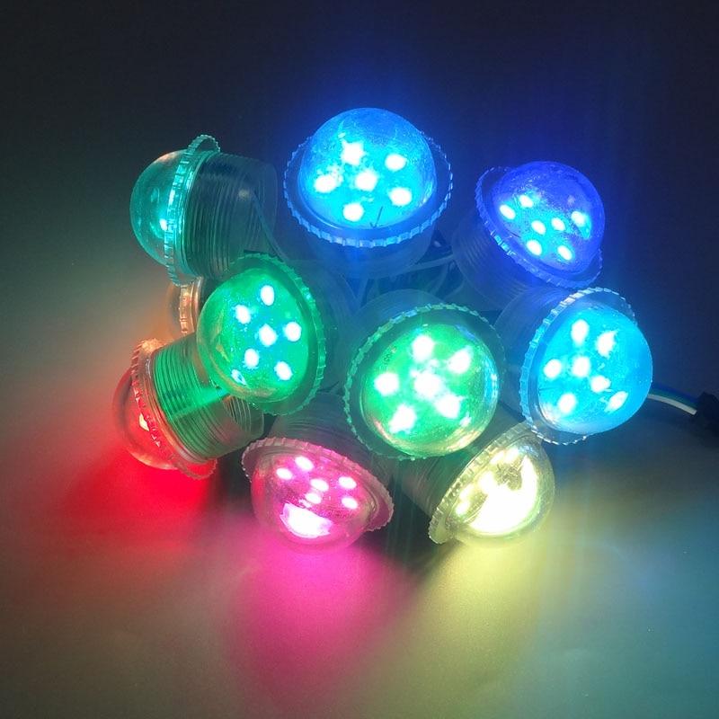 36mm 6LED 9LED UCS1903 rgb led pixel module light,5050 SMD RGB LED pixel lights,amusement ride bulb,DC12V input,Waterproof IP67