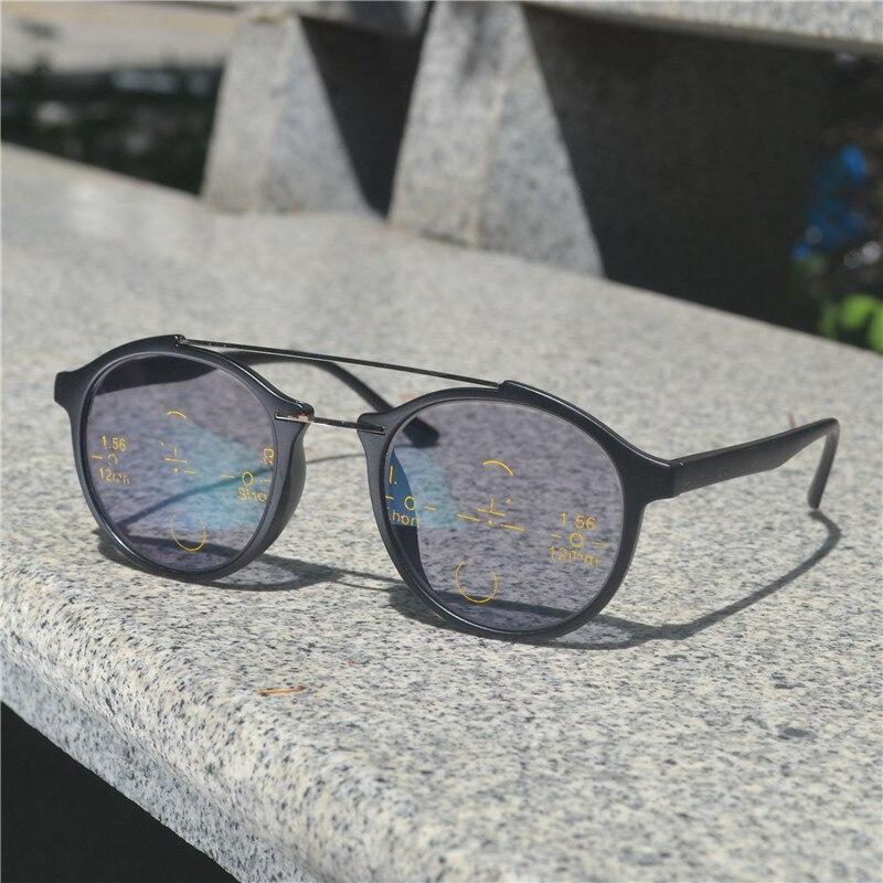 2018 переходные солнцезащитные очки фотохромные очки для чтения прогрессивные Мультифокальные очки для чтения мужские и женские Пресбиопия дальнозоркость NX