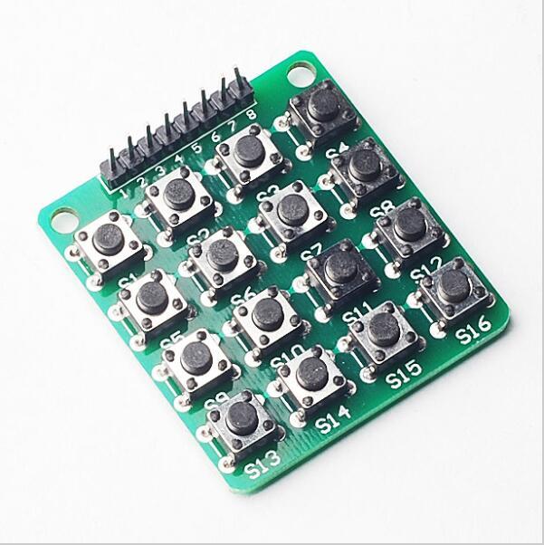 Para a chave 4x4 matriz teclado 16 scm módulo de teclado estendido para arduino