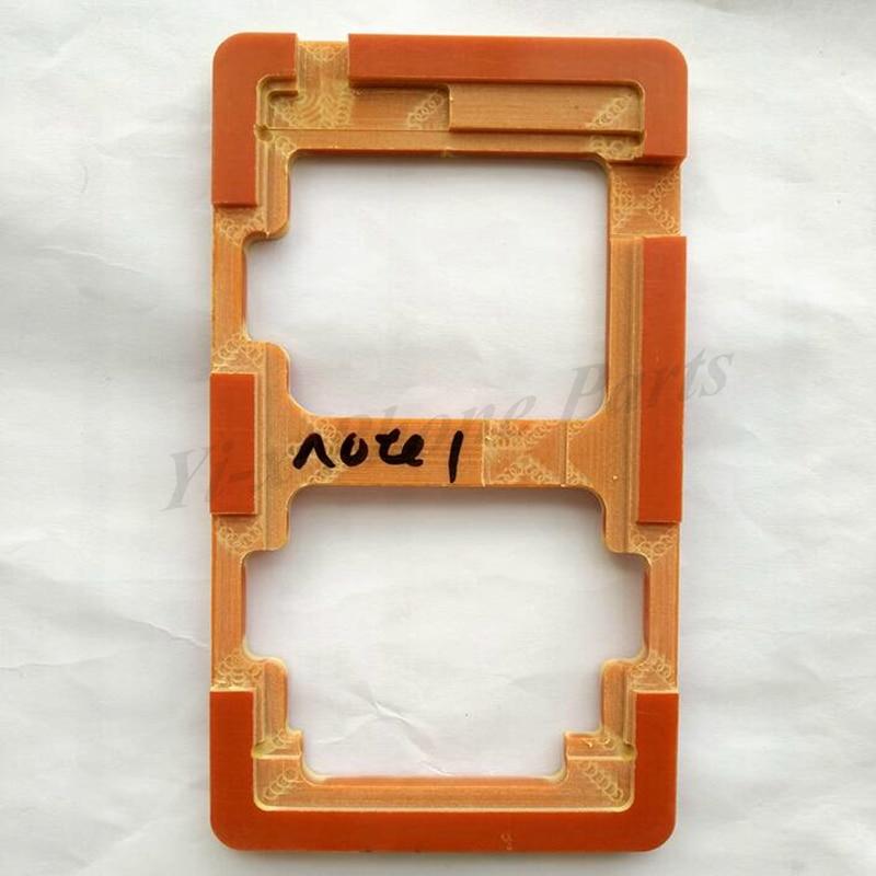 1 piezas LCD exterior de la pantalla de vidrio molde moldes molde titular para Redmi nota Note2 Note3 Note4 Note4X nota 4X