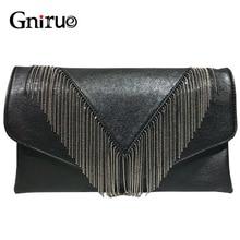 Новинка 2019, модная черная женская сумка с цепочкой высокого качества, сумка через плечо, кошельки из искусственной кожи, дизайнерская сумка-...