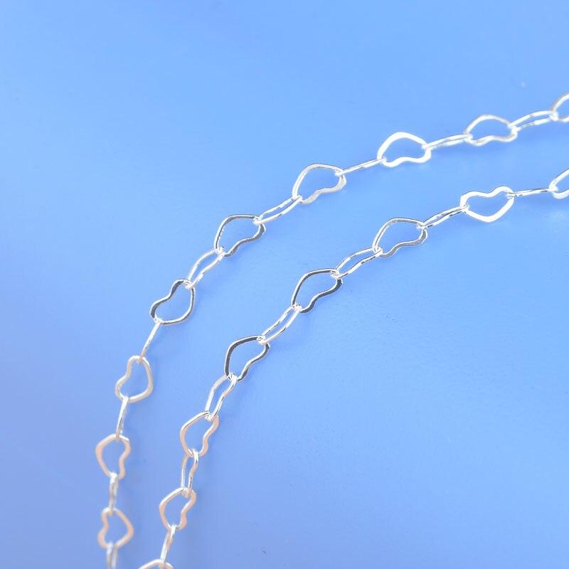Высокое-качество-1-шт-ожерелье-из-стерлингового-серебра-925-пробы-с-сердечками-большая-скидка-16-24-Популярные-Элегантные-ювелирные-аксесс
