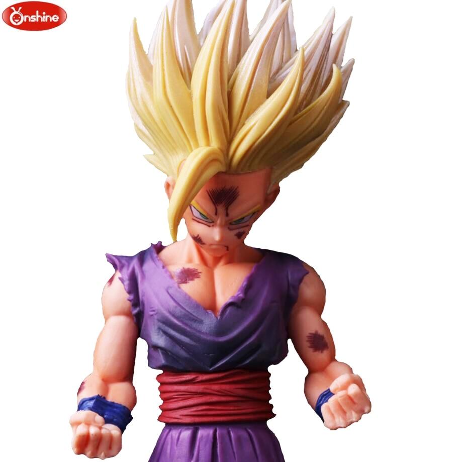 Супер-фигурка Dragon Ball Z, трусы Супер SAIYAN WARRIORS v son Goku-черная фигурка из ПВХ, модель игрушек