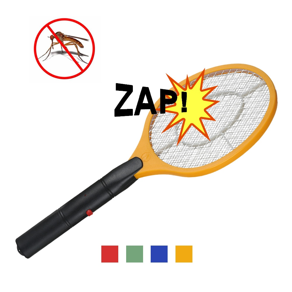 1PC Electric Mosquito Swatter Anti Mosquito Fly Repellent Bug Insect Repeller Reject Killers Pest Re
