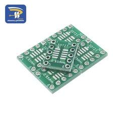 10 stücke SOT23 MSOP10 zu DIP Transfer Board DIP Pin Board Pitch Adapter 0,5mm/0,95mm Zu 2,54mm PCB