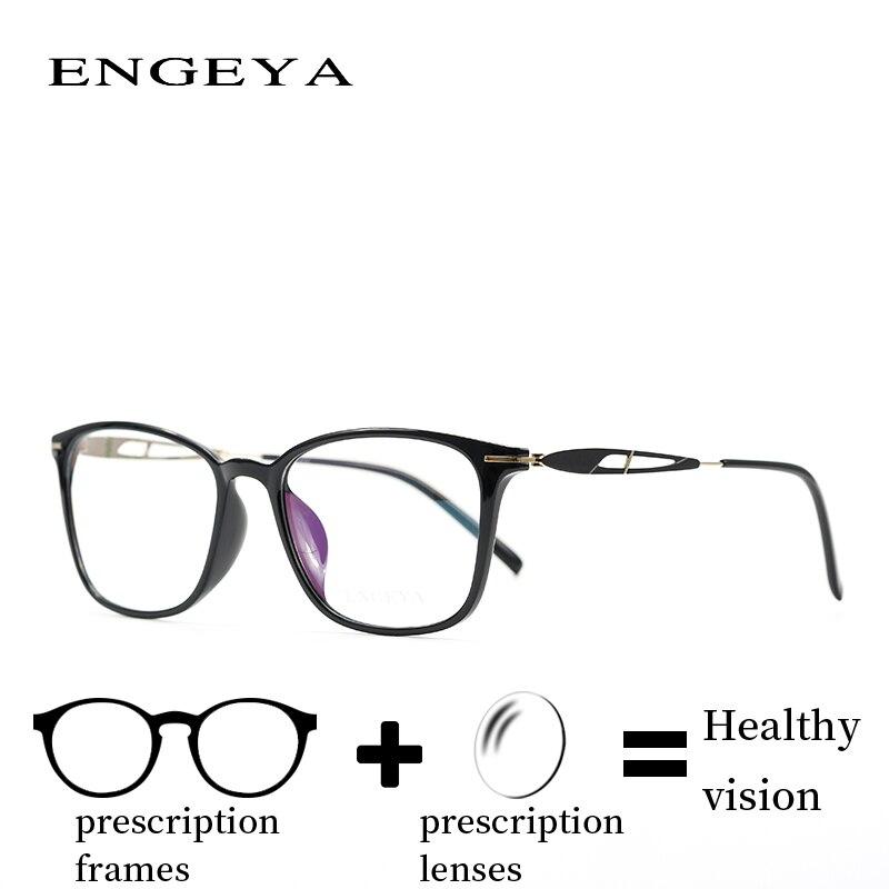 Titanium Optical Women Eye Glasses Stylish Glasses-transparent Computer Myopia Presbyopia Degree Pre