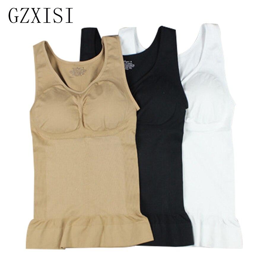 Женский бесшовный корсет GZXISI, бесшовный корсет со съемными прокладками для коррекции фигуры